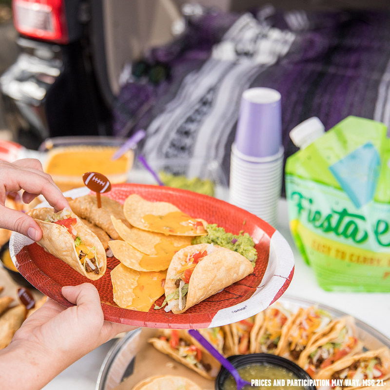 Score a touchdown at your next tailgate or watch party with On The Border Mexican Grill & Cantina®!