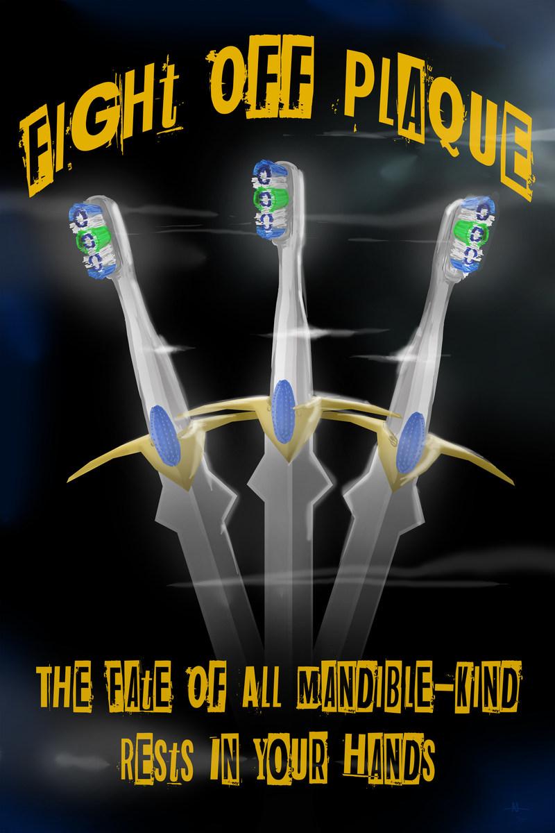 Azurin's winning poster design