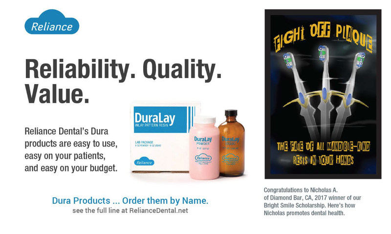 Ad featuring winning design in DPR magazine