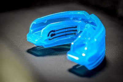 PARC, a smart mouth guard that can non-invasively and continuously monitor health, Photo by NextFlex