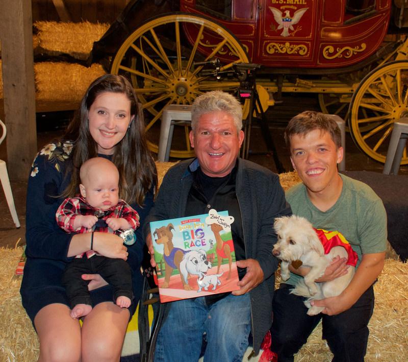 Matt, Zach, Tori, Jackson, and Lucy at Matt's Book Launch Party