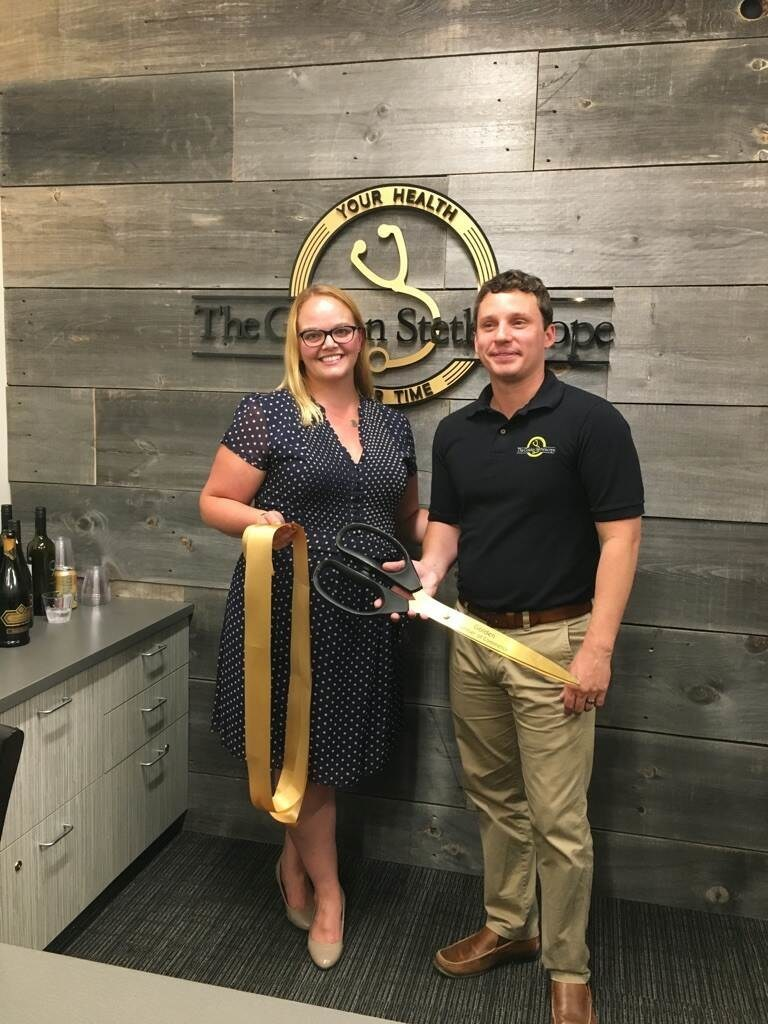 The Golden Stethoscope - Ribbon Cutting