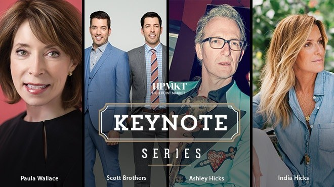 Design stars power the October High Point Market Keynote Series.