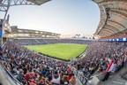Fans enjoying LA Galaxy match at StubHub Center