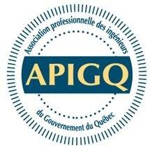 Logo : Association professionnelle des ingénieurs du gouvernement du Québec (Groupe CNW/Association professionnelle des ingénieurs du Gouvernement du Québec)
