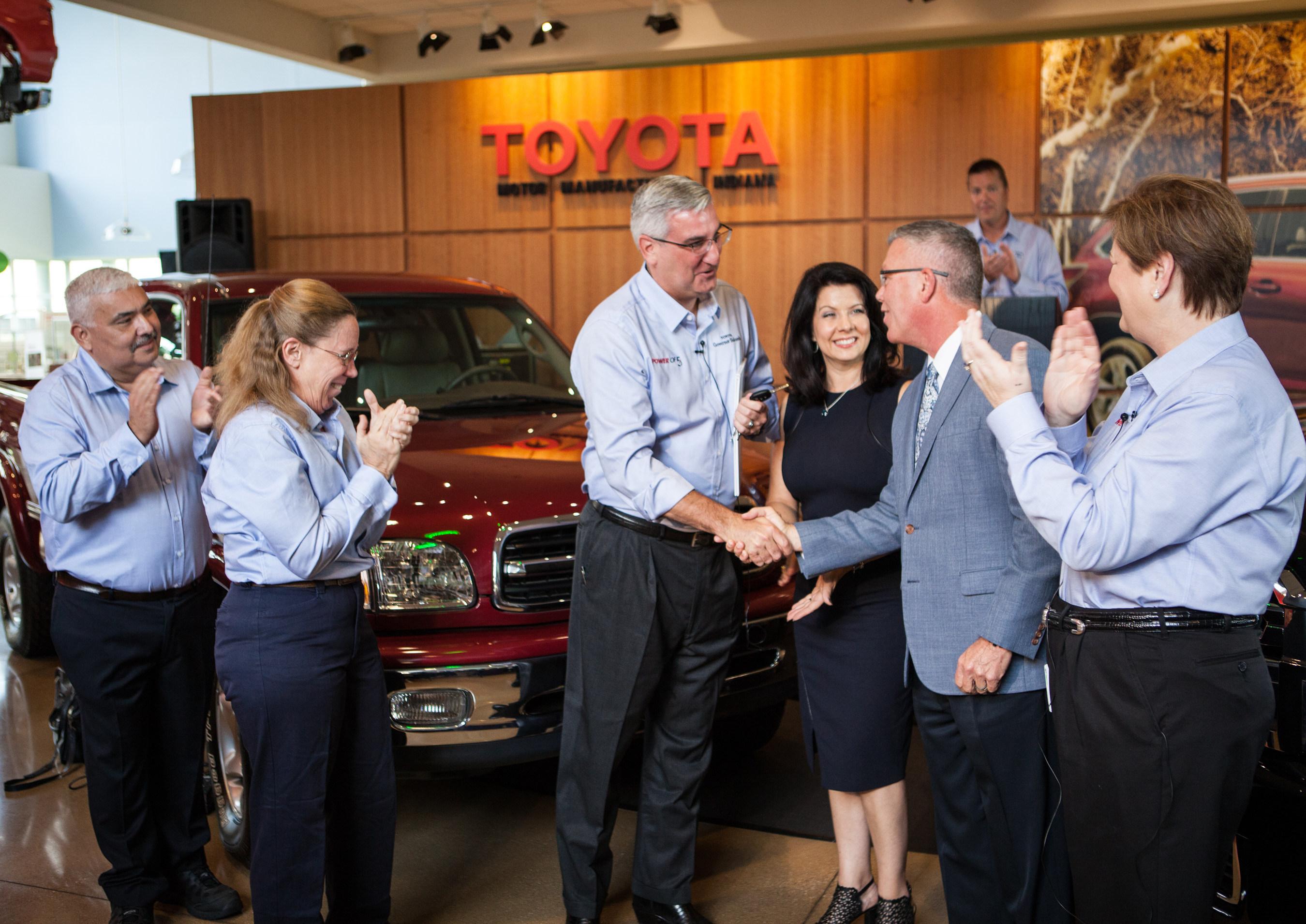 Toyota Indiana Celebrates 5 Million Success Stories