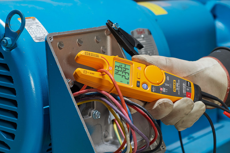 The T6 testers now make it possible to take reliable true-rms measurements in crowded junction boxes or along conductors with inaccessible end points, saving time, minimizing potential errors, and greatly reducing the possibility of arc flash.