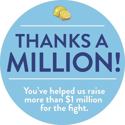 $1 million ALSF donation milestone