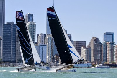 Chicago Match Cup Stadium-style Sailing takes place Sept. 27 - Oct. 1, East End of Navy Pier. Sailors compete for $100,000 in prize money. Multiple ways to watch from shore or on the water. Join us!
