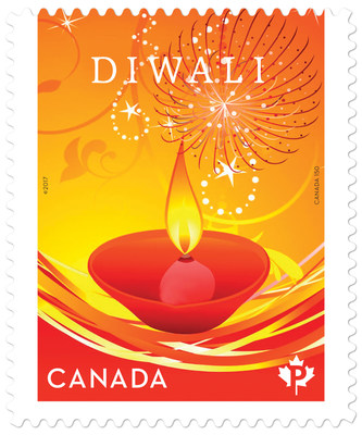 India - Diwali Stamp (CNW Group/Canada Post)