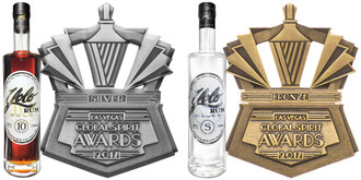 Two More Medals for the Trophy Case: Yolo Rum Takes Home Silver and Bronze Medals at 2017 Global Spirit Awards