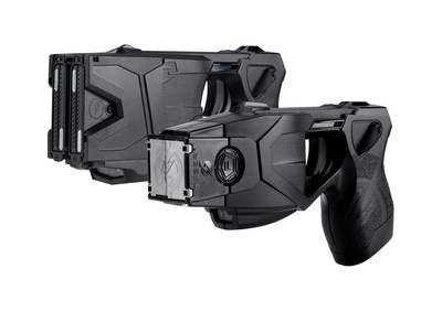 TASER X2 and TASER X26P Smart Weapons (L to R) have save more than 189,000 lives from death or serious injury.