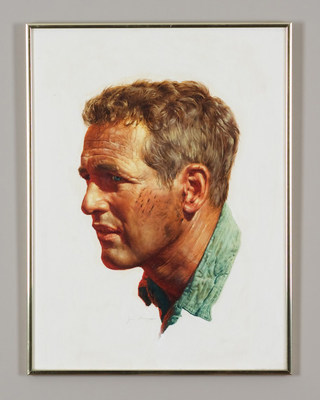 The Original Film Poster Paintings from the Collection of Famed Hollywood Art Director Bill Gold Now on Sale; Collection includes My Fair Lady, Cool Hand Luke, Camelot, Mame, Deliverance, Hair, and more (PRNewsfoto/San Francisco Art Exchange)