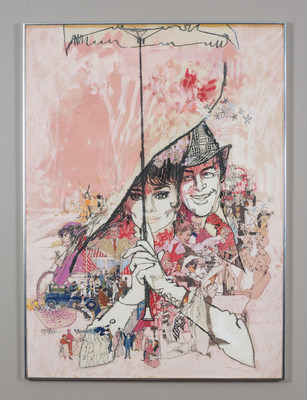 Original Film Poster Paintings from the Collection of Famed Hollywood Art Director Bill Gold Now on Sale, Including My Fair Lady, Cool Hand Luke, Camelot, Mame, Deliverance, Hair, and more