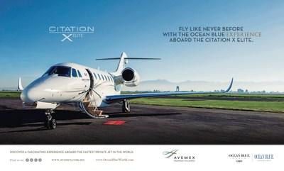 Ocean Blue World Crea Alianza con Avemex para el Lanzamiento del Avión Privado Más Rápido del Mundo en The One Luxury Event