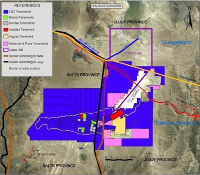 Figure 1: Salar de Salinas Grandes (CNW Group/LSC Lithium Corporation)