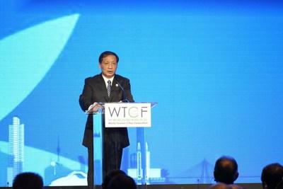 World Tourism Cities Federation Secretary General Song Yu Gives Speech
