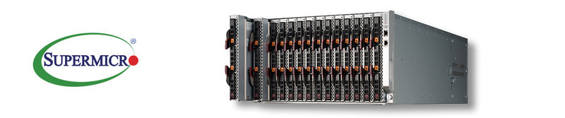 New Supermicro 6U SuperBlade Enclosure with 14 Blade Servers