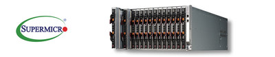 Supermicro Launches New 6U SuperBlade Disaggregated Server Systems supporting Rack Scale Design and Free Air Cooling