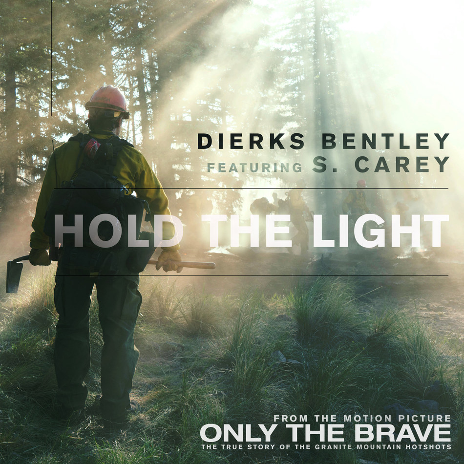 """Dierks Bently and Bon Iver's S. Carey Team Up for """"Hold The Light"""" from Upcoming Film 'Only The Brave'"""
