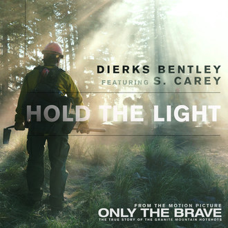 "Dierks Bentley And Bon Iver's S. Carey Team Up For ""Hold The Light"" From Upcoming Film 'Only The Brave'"