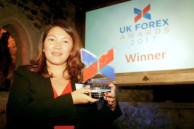 AETOS Capital Group is awarded the Best Forex Broker IB Programmer Award at the 2017 UK Forex Award
