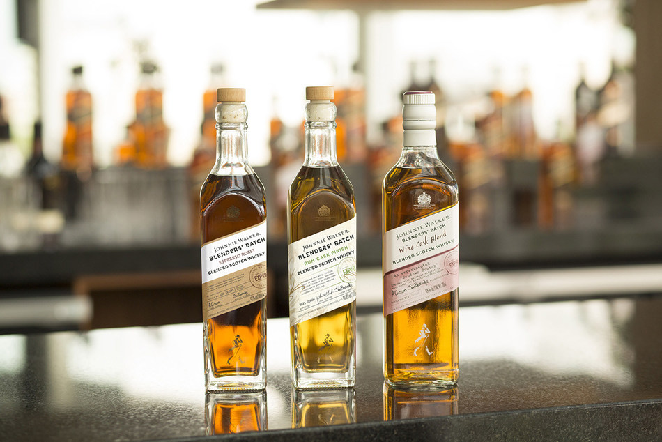 A Taste of Innovation: Johnnie Walker Serves Up Experimental New Flavours Inspired By Leading Flavour Experts (PRNewsfoto/Johnnie Walker)