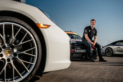Scott Hargrove, Platinum Cup champion of the 2017 Ultra 94 Porsche GT3 Cup Challenge Canada by Yokohama. (CNW Group/Porsche Cars Canada)