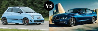 A Fiat vs BMW comparison is listed on Palmen Fiat's website.