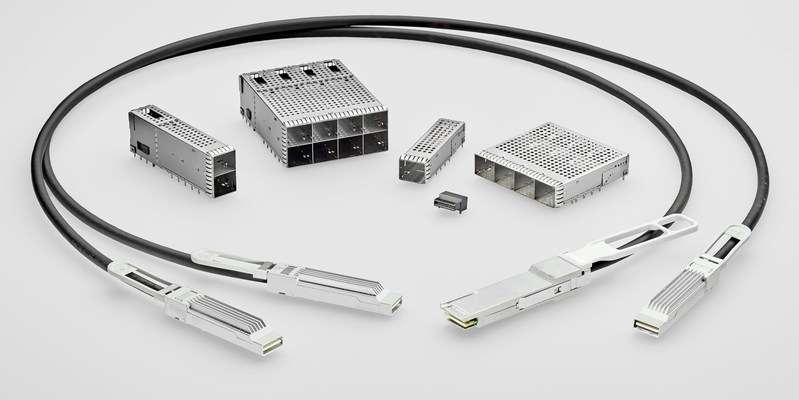 TE Connectivity's microQSFP pluggable connectors, cages and cable assemblies are gaining rapid traction in the industry.