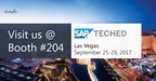 Visual BI Solutions Announces Its Participation in SAP® TechEd®, 2017 to Showcase Offerings for SAP Lumira® 2.0 and End-to-End BI Capabilities