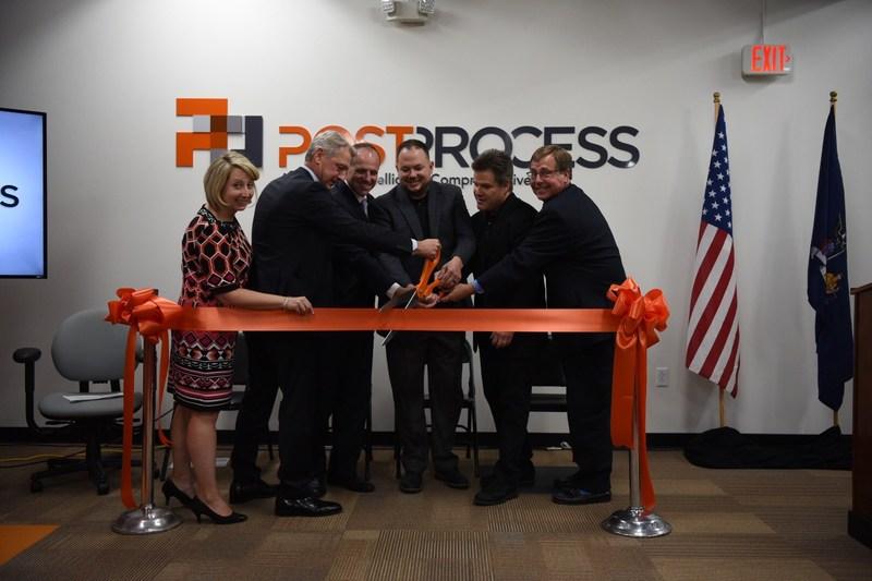 PostProcess Headquarters Ribbon Cutting