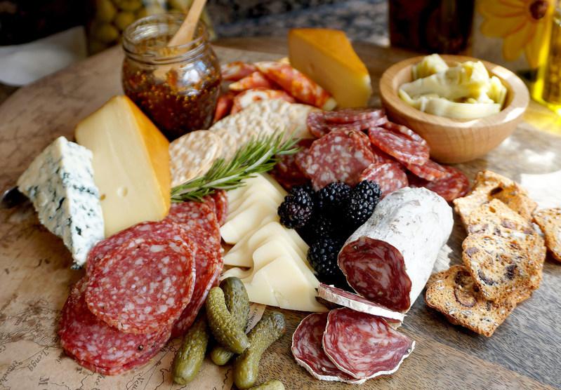 Columbus Craft Meats Salami Creates a Delicious Charcuterie Board