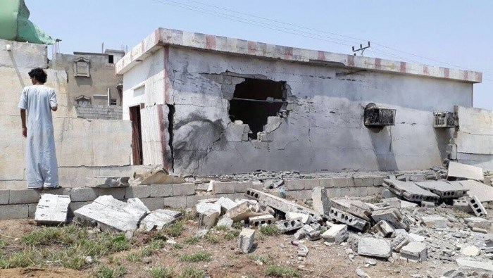 Houthi Rockets Strike School, Houses in Southern Saudi Province