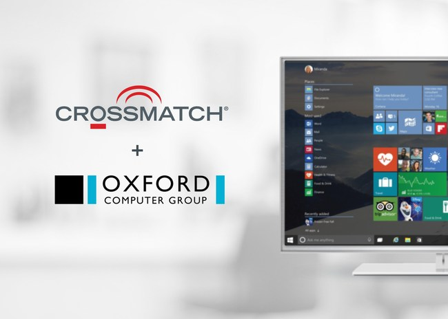 Crossmatch and Oxford Computer Group partner to offer biometric identity solutions to Microsoft customers