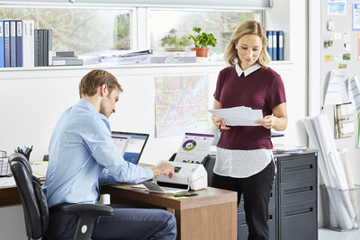 The Brother ADS-2700W Wireless Desktop Scanner quickly and securely digitizes documents with double-sided black and white and color scanning capabilities – a perfect fit for a wide range office environments.