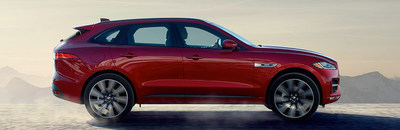 San Antonio drivers in search of luxury and performance will find the updated 2018 Jaguar F-PACE in the vehicle showroom at Barrett Jaguar.