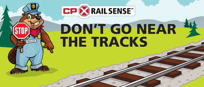 To learn more about CP RailSense and to start your journey to becoming a rail safety ambassador, visit www.cpr.ca/railsense. (CNW Group/Canadian Pacific)