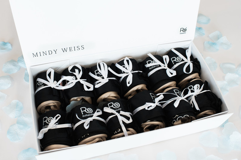 The Mindy Weiss Rollasole collection includes 3 small, 6 medium and 3 large Rollasoles.