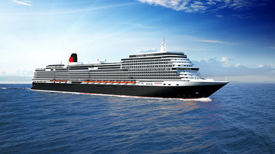 Carnival Corporation has signed a memorandum of agreement with Italian shipbuilder Fincantieri S.p.A. to build a new cruise ship for the company's iconic Cunard brand.  Image courtesy of Cunard