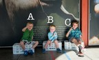 "3 Deaf kids showing sign language for the ""A, B, C's"""