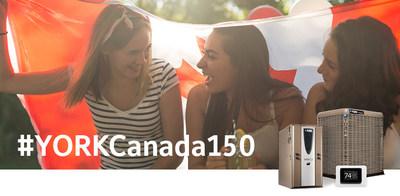 Propriétaires au Canada :  pour courir votre chance de gagner un système de confort au foyer YORK® Affinitytm, visitez le site YORK.com/150 et proposez une photo témoin des valeurs canadiennes : camaraderie, travail d'équipe et prévenance.