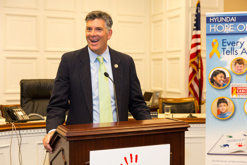 (Left picture) Rep. Mike McCual (R- TX)