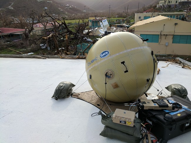 GATR antennas currently deployed in St. John