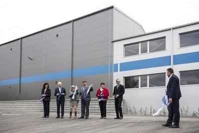 VWR celebrates opening of new Kitting Center in Czech Republic (L-R: VWR team Jitka Neuzilova, Ulf Kepper, Vaclava Moravcova, Todd Gates, Martina Novakova, Charlie Daniels and Petr Moravec)