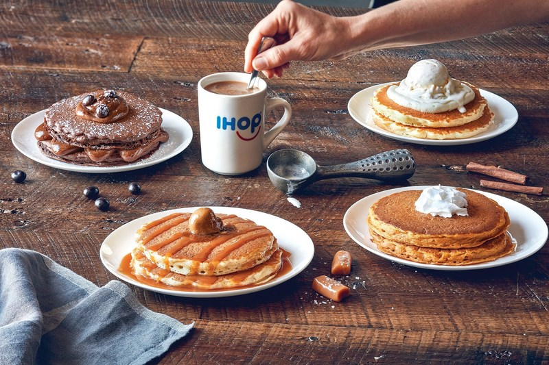 New Latte Lover's Pancakes at IHOP inspired by the bold, craveable flavors of lattes