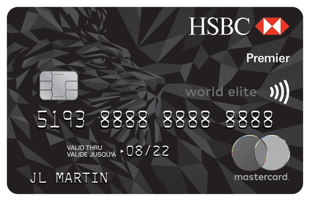 the new hsbc premier world elite mastercard has what canadians