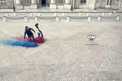 Rossignol Campaign FW17 Fourcade&Visser (PRNewsfoto/Rossignol)