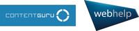 Content Guru Webhelp Logo (PRNewsfoto/Content Guru and Webhelp)