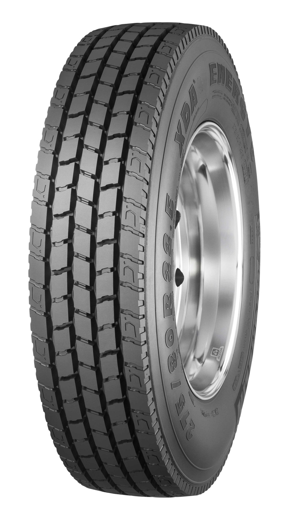 The new MICHELIN XDA Energy +, a dual drive-position tire for line-haul applications, is designed for fleets and owner-operators who are focused on fuel savings to reduce their operating costs. One of the main levers fleets have to improve their competitiveness is improving their fuel efficiency, and tires like the new Michelin XDA Energy + can play a key role. With rolling resistance accounting for approximately 35 percent of the total fuel cost of a Class 8 truck, the Michelin XDA Energy +